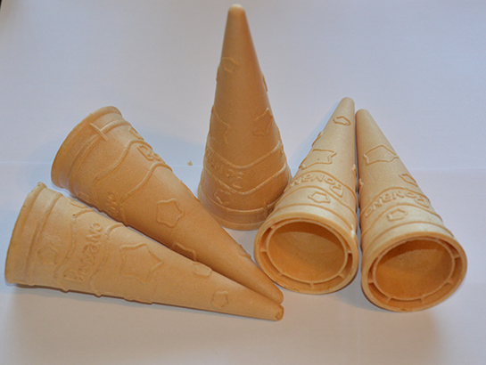 The new wafer pattern: Cone Bonano